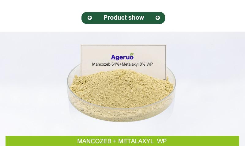 metalaxyl 8 mancozeb 64 wp